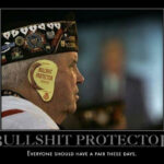 Too much bullshit? Try our protector!