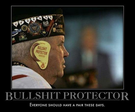 Bullshit protector!