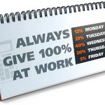 Give 100 % at Work!
