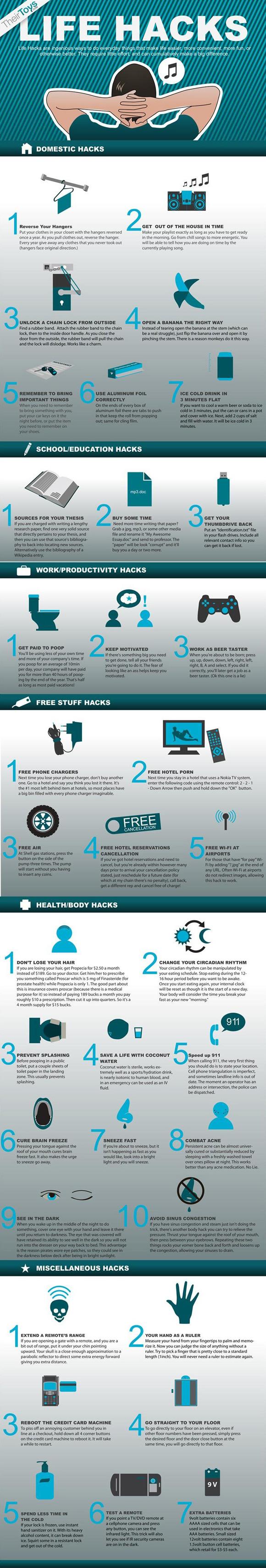 Amazing life hacks!
