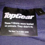 Top gear animal testing
