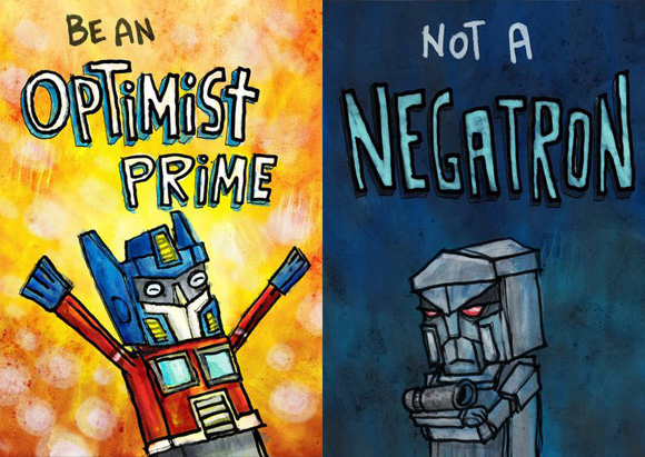be an optimist prime