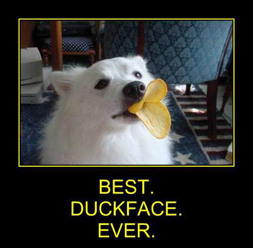 Best duckface ever