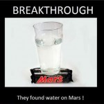 They've found water on Mars!
