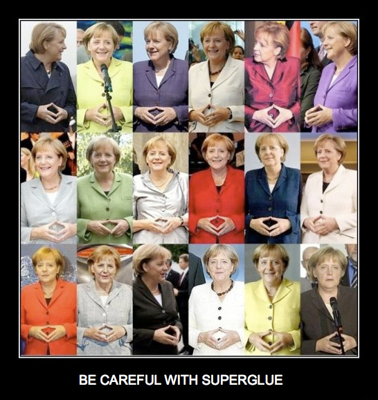 be careful with superglue