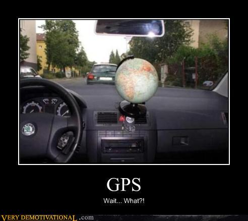 demotivational poster gps