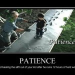 Demotivational – Patience