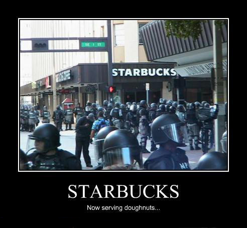demotivational poster - starbucks