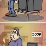 evolution of humans and television