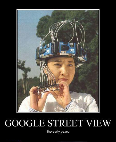 Google StreetView, the early years