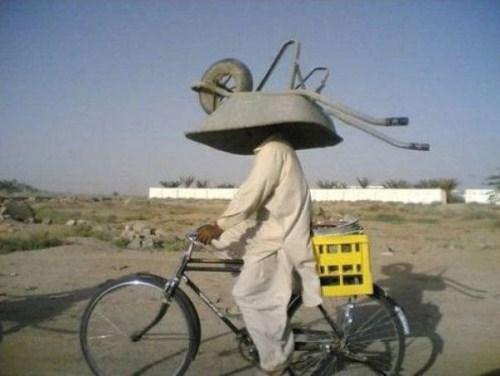 helmet you're doing it wrong