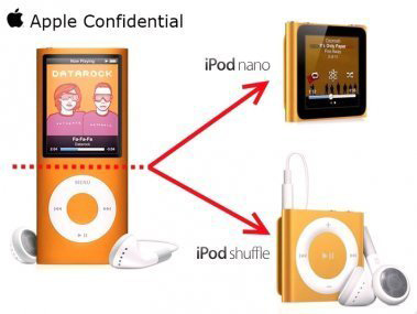 how apple created the new ipod nano