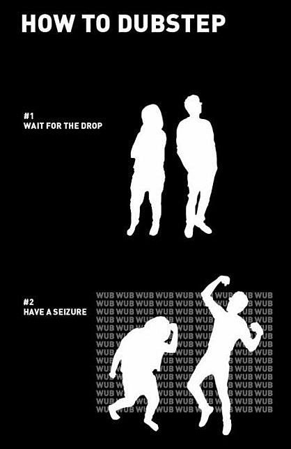Learn to dubstep in two easy steps!