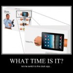 iArm: What time is it?
