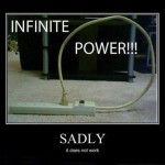 Infinite power!