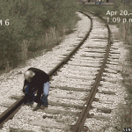 Man hit by a train...