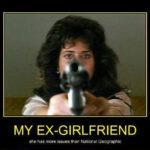 My ex...