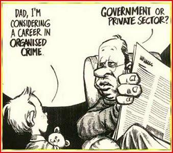 Organized crime career