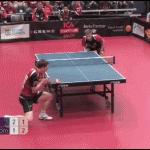 Playing pingpong: Like a boss!