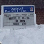 Who's praying for snow?