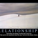 Demotivational Poster: Relationships