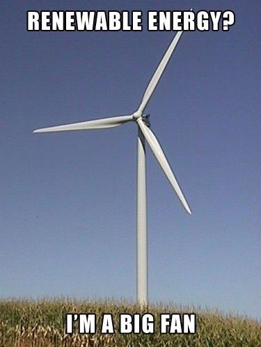 Renewable energy?