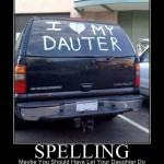 Spelling: You're doing it wrong!