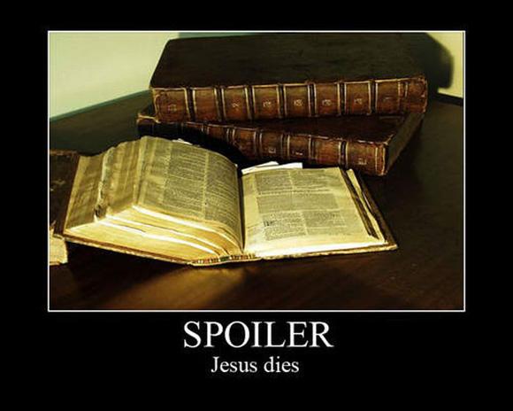 spoiler alert: jesus dies!