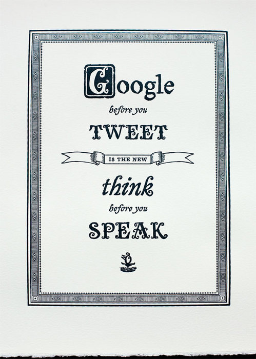 the new think before you speak