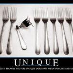 I am unique!