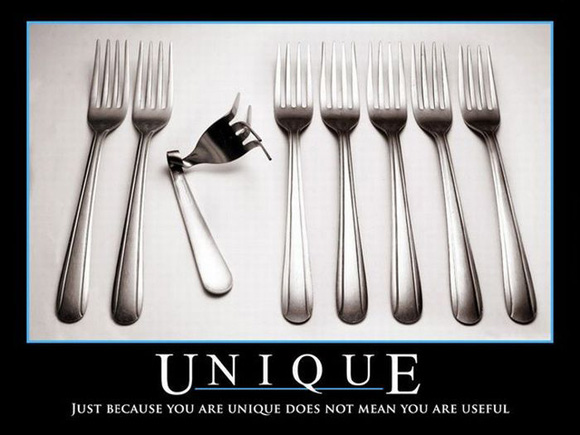 unique is not useful