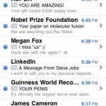 my usual mail inbox
