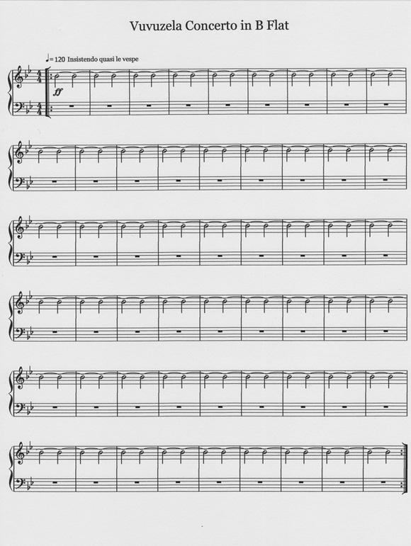 vuvuzela concerto b flat