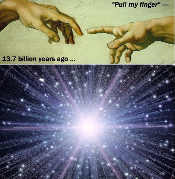 13.7 billion years ago...