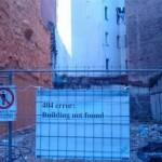 Building not found: 404 Error