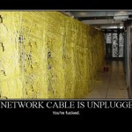 A Network cable is unplugged!