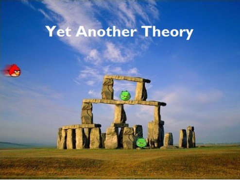 And yet another theory...