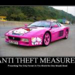 Anti-theft mesures!