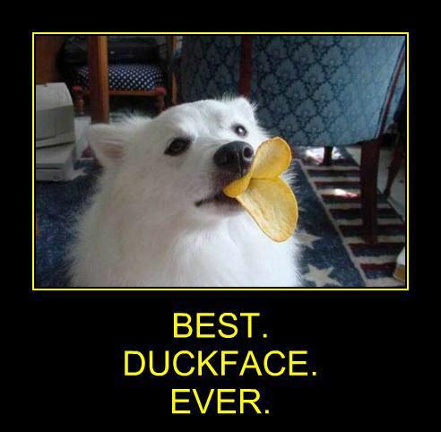 Best duckface ever