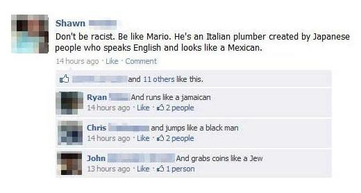 Don't be racist!