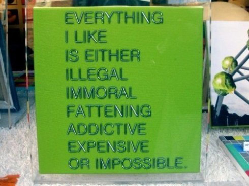 Everything I like...