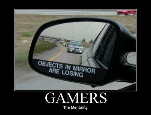 gamer mentality