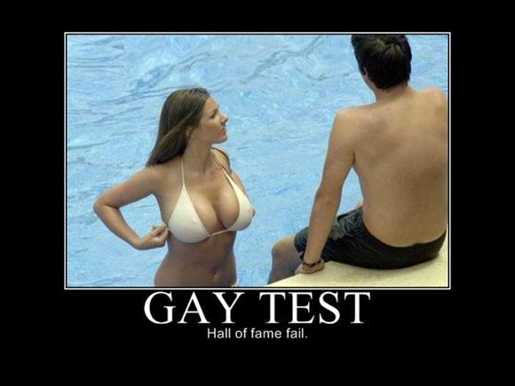 gay test epic fail