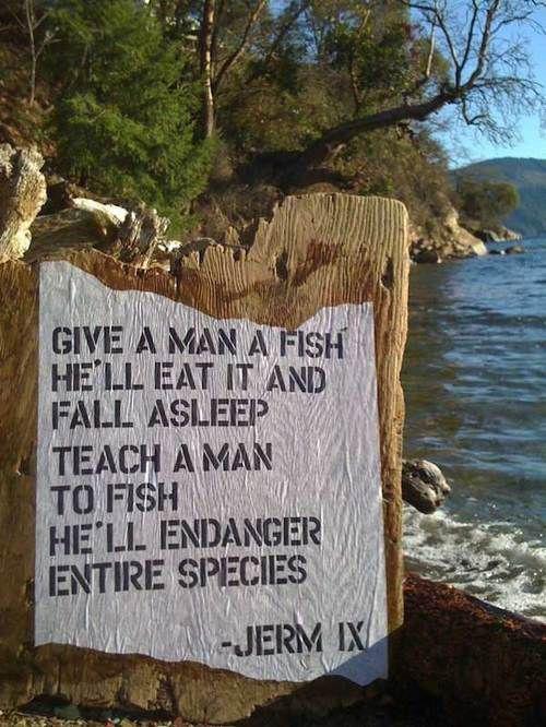 give a man a fish