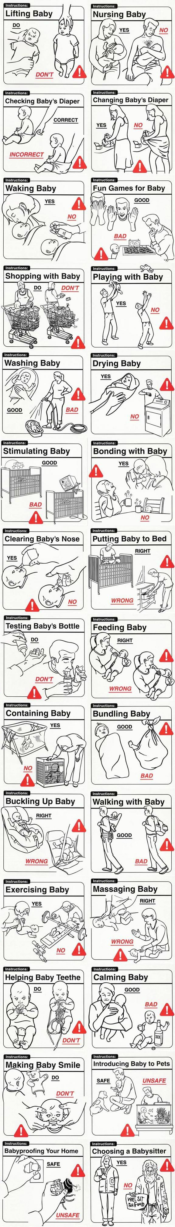 How to take care of your baby