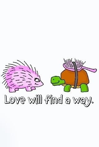 Love will find a way...