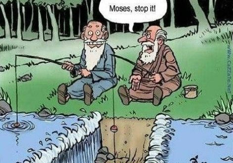 Moses stop it...