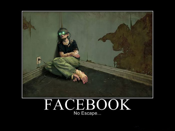 there's no escape from facebook