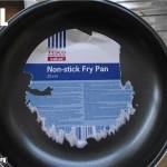 Non-sticky fry pan fail
