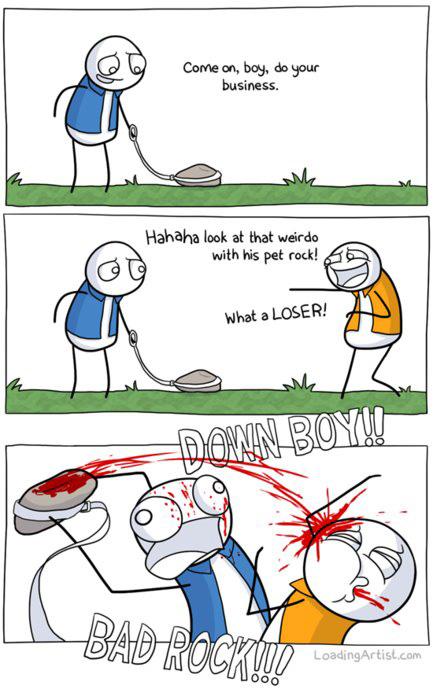 My rock pet